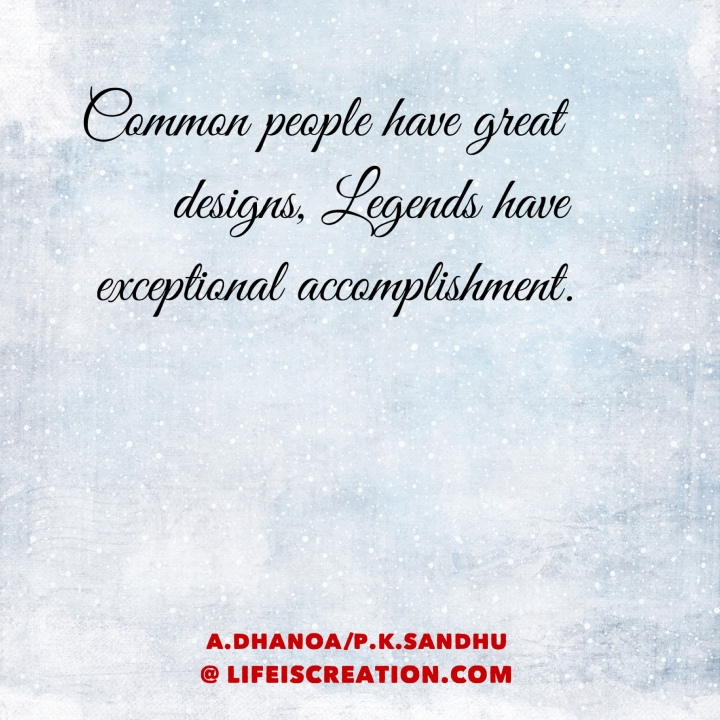 Thought by A.Dhanoa/P.K.Sandhu
